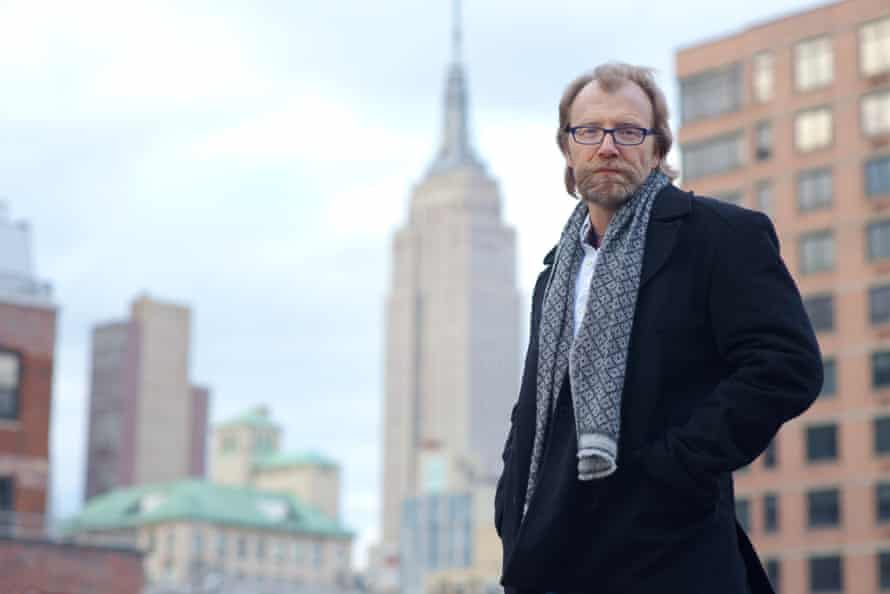 REVIEWAuthor George Saunders, New York City, 3rd ave. Shot by Tim Knox, 11th
