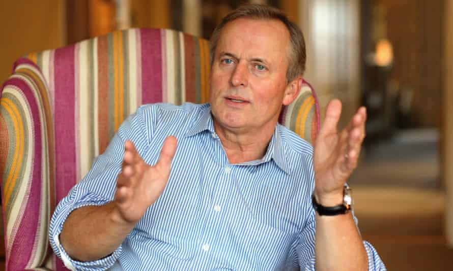 John Grisham says people who look at child abuse images 'probably had too much to drink'.