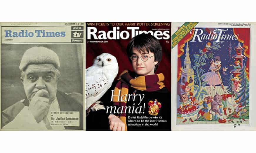 Radio Times covers from