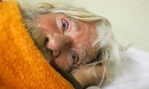 Geneva - homeless man