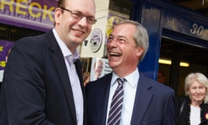 Ukip's candidate in Rochester and Strood, Mark Reckless (left), campaigns with his party leader Nigel Farage last week.