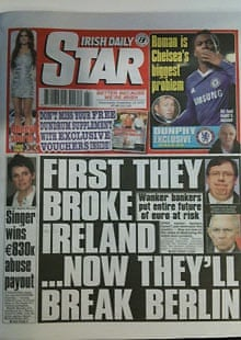 Irish Daily Star, November 2010