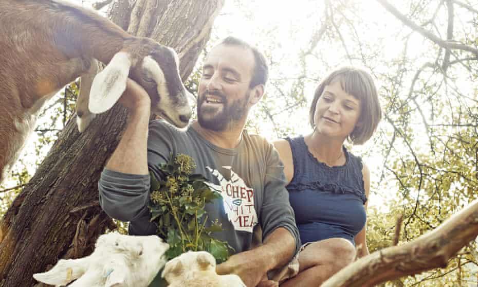 Cabrito Goat Meat's James Whetlor and Sushila Moles.