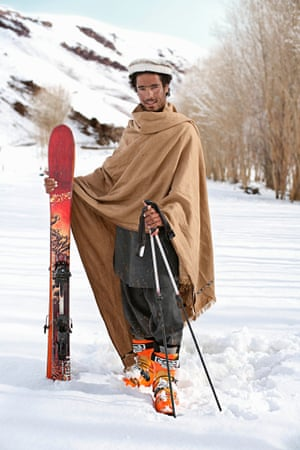Ali Shah, skier Afghanistan