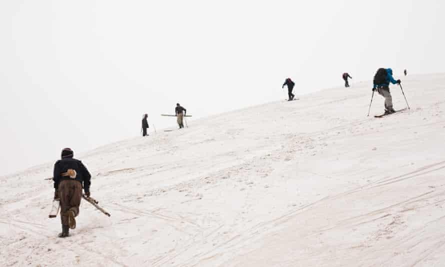 Skiing in Afghanistan