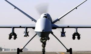 A Reaper drone.