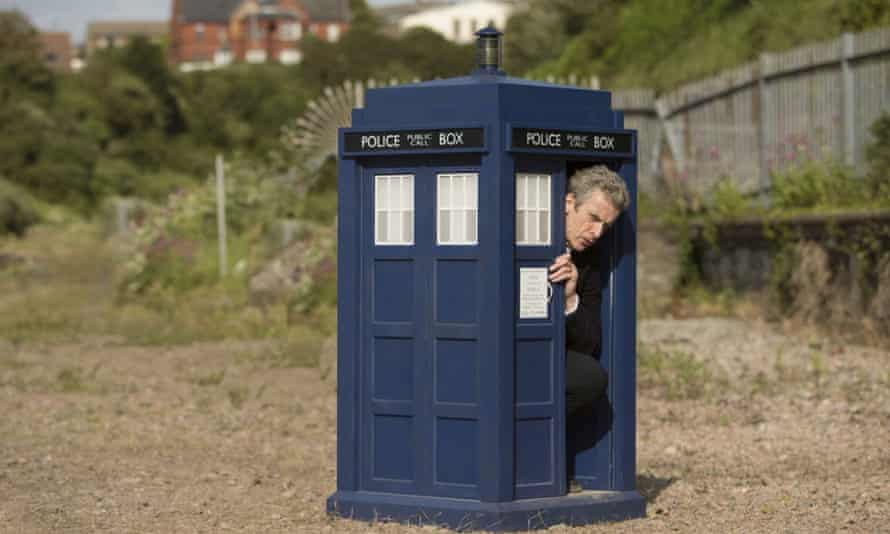 The Doctor in a shrinking Tardis.