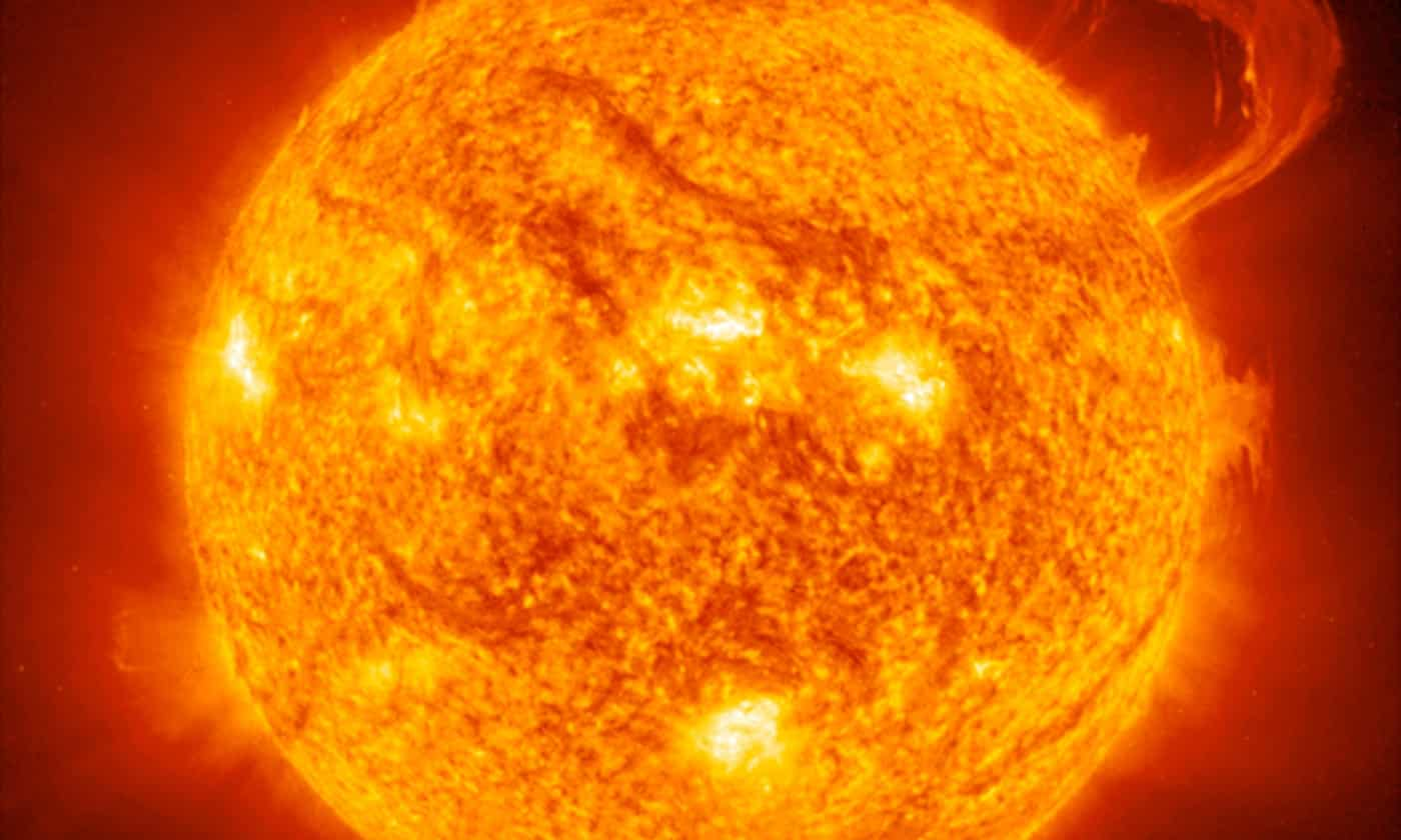 Dark matter may have been detected – streaming from the sun's core