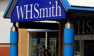 WHSmith card store trial