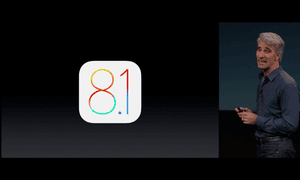 Craig Federighi takes to the stage