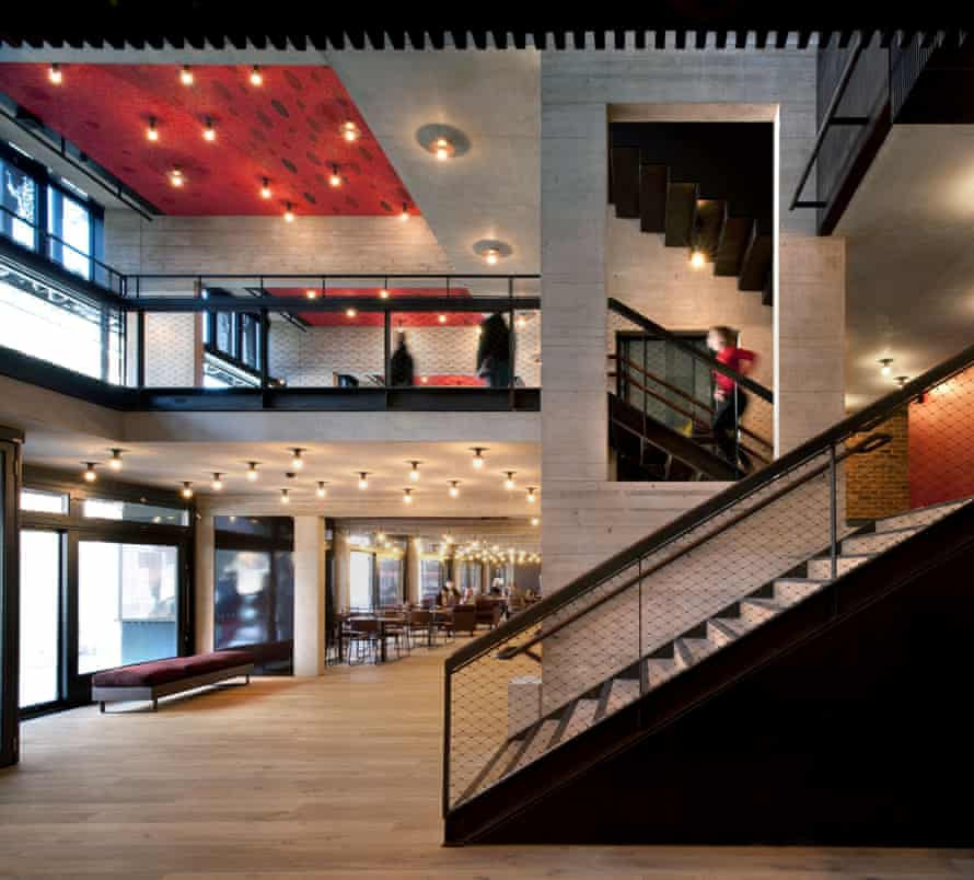 The Everyman theatre in Liverpool, designed by Haworth Tompkins architects, which has triumphed in the Riba Stirling prize over buildings including the Shard.