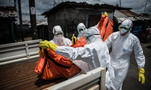 A casuality by Ebola virus in Liberia