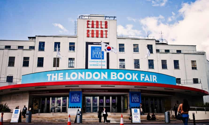 The London Book Fair 2014 at Earl's Court.