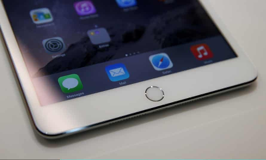 The Touch ID pad on an new iPad mini 3. Business users who have to type long passwords like the idea.