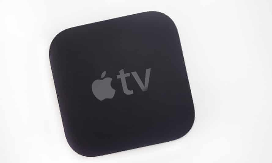 A second-generation Apple TV, from 2011.