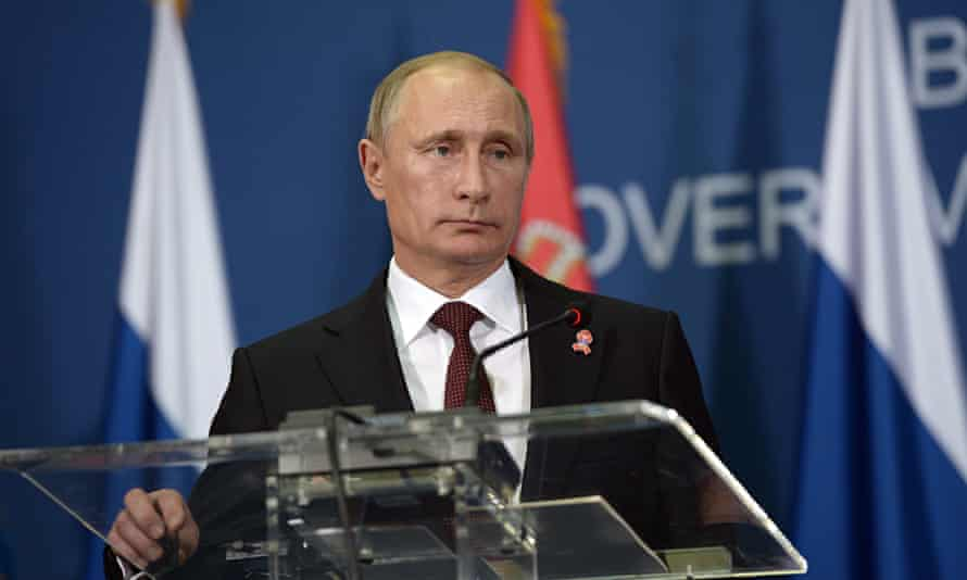 Russian President Vladimir Putin visits Serbia