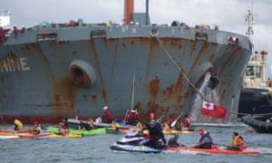 Pacific protest