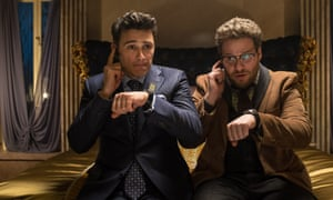 Seth Rogen (right) with James Franco in The Interview