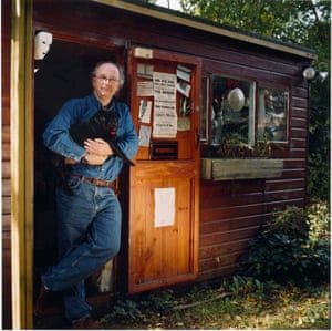 Philip Pullman shed