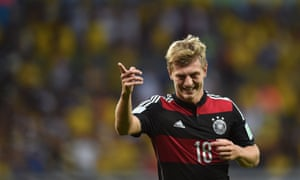 Toni Kroos was the only player born in former east German territory in the World Cup winning side this year.