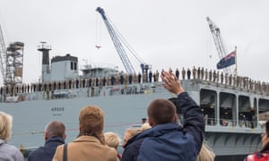 The RFA Argus leaves Falmouth for Sierra Leone to help tackle the Ebola crisis. So far, the crisis response has been spearheaded by the usual suspects – Britain, France and the US.