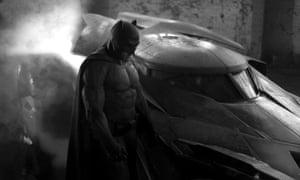 Ben Affleck suited up as Batman in Batman v Superman: Dawn of Justice