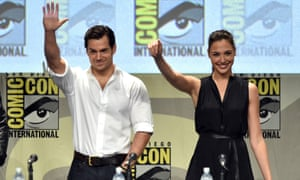 Actors Henry Cavill and Gal Gadot will star as Superman and Wonder Woman in Zack Snyder's The Justice League