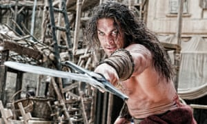 Jason Momoa pictured as Conan in Conan the Barbarian, is soon to play Aquaman.