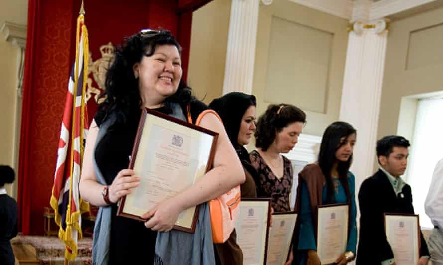 citizenship ceremony london