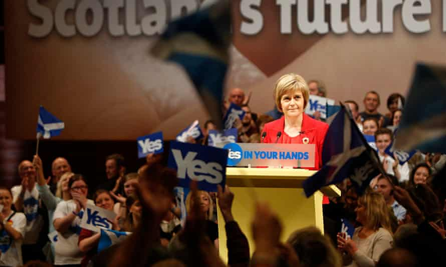 New SNP leader Nicola Sturgeon