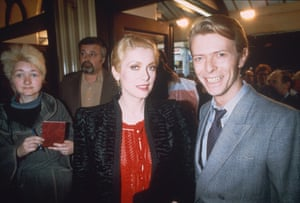 Deneuve and David Bowie, 1982