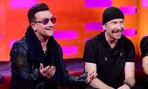 Bono, and The Edge