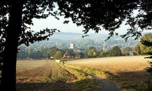 Amersham in the green belt in Buckinghamshire