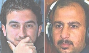 Mohanad al-Aqidi, who is said to have been shot, and Raad Mohamed al-Azaoui, who was publicly behead