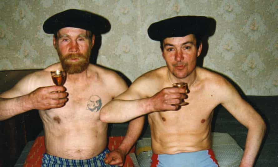 A detail from a photograph from Case History, by Boris Mikhailov
