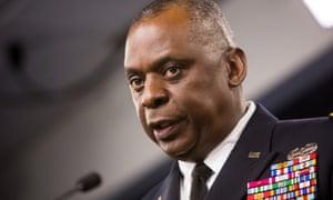 General Lloyd Austin press briefing