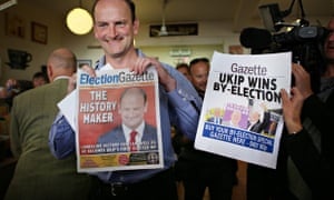 Carswell celebrates his byelection win