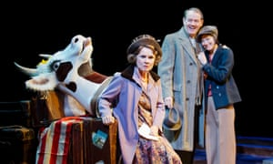Imelda Staunton, 'the hellish quintessence of stage mother', with Kevin Whately and Lara Pulver in Gypsy.