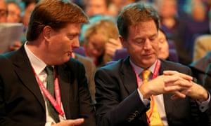 Danny Alexander and Nick Clegg