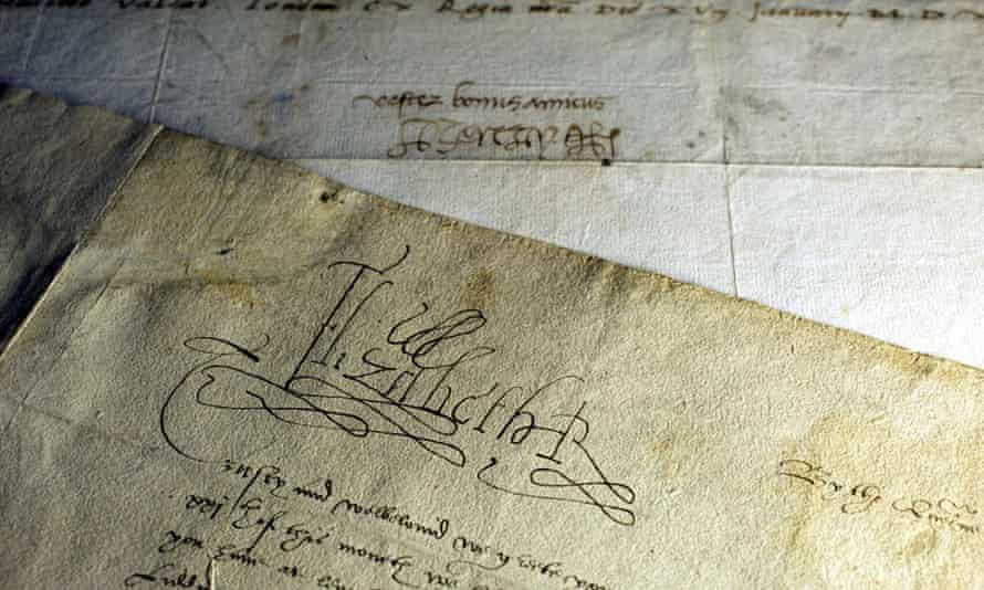 Letter by Elizabeth I