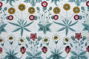 William Morris's Daisy wallpaper, 1862