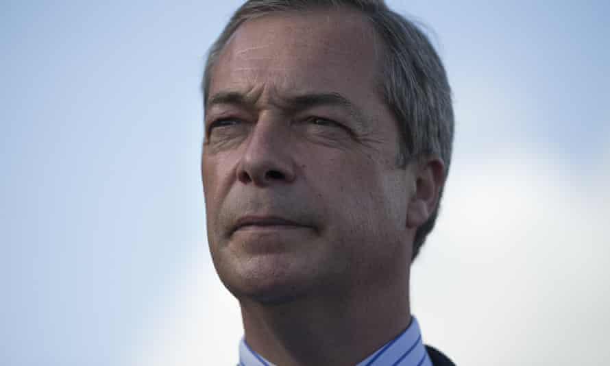 Ukip leader Nigel Farage 17 October