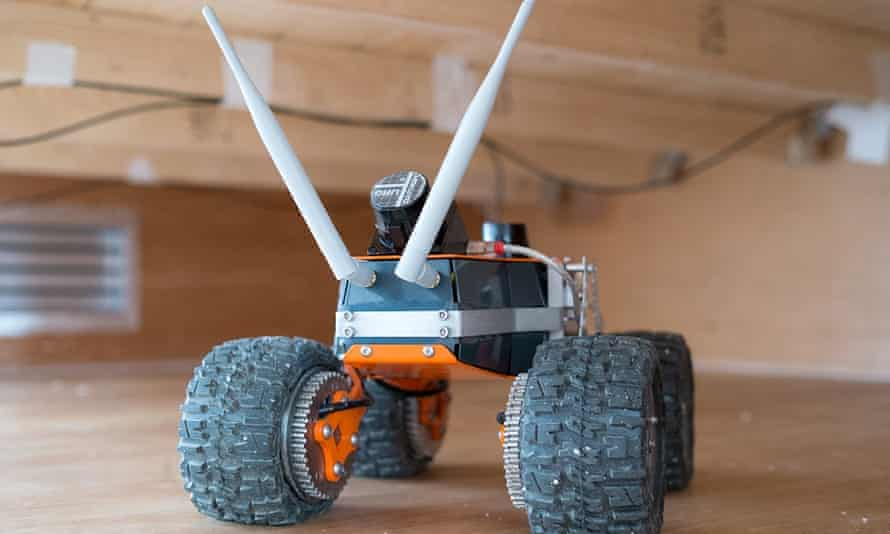 Q-Bot will map and survey a building.