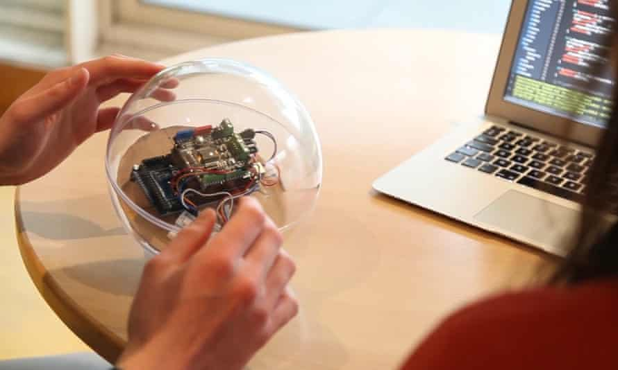 Moti is a robotic ball designed to help autistic children.