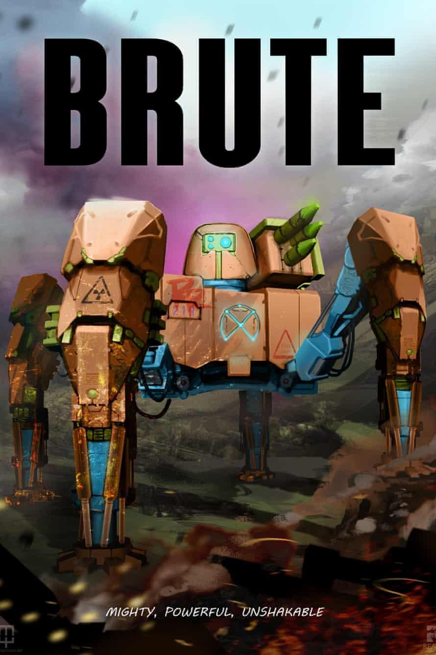 A gaming robot from Reach Robotics.