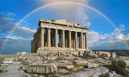 The marbles were created for the Parthenon in Athens