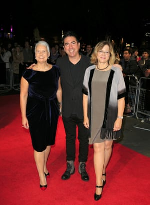 Producers Tania Chambers, Laurence Malkin and Share Stallings attend screening of their film Kill Me Three Times