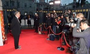 Film director Stephen Frears arrives for the London Film Festival Awards