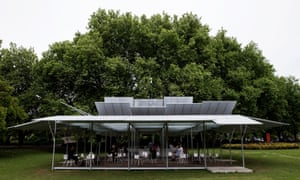 MPavilion in Queen Victoria Gardens, Melbourne.