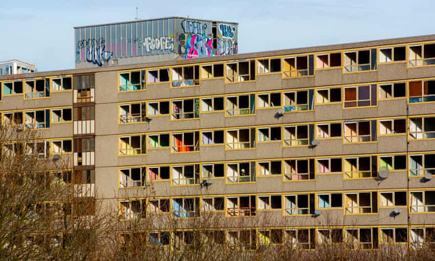 London's Heygate estate, which being demolished.
